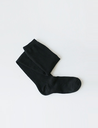 cotton knee high socks(2colors)